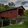 Arlington VT Covered Bridge October 2016