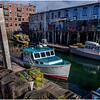 Portland Maine Wharf Scene 7 March 2017