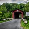 Vermont Arlington Covered Bridge 4 August 2009