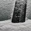 Car Door in Snow 2011