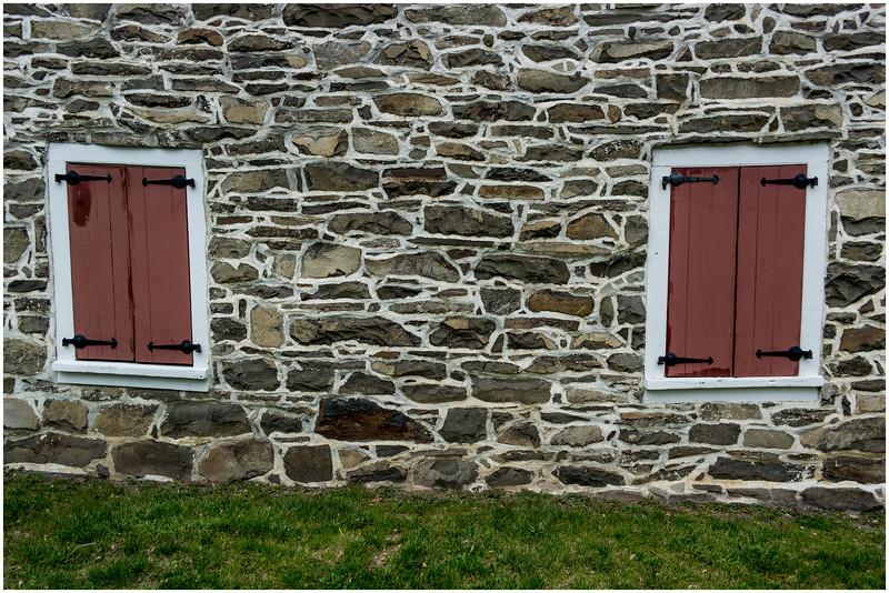 New Paltz NY Huegenot Street Hasbrouck House 9 Built 1712, April 2016