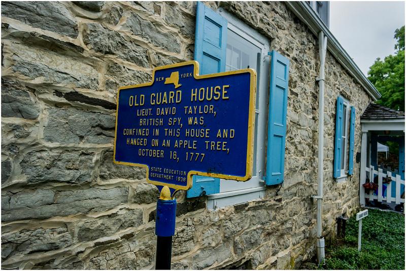Hurley NY Stone House Day Guard House July 2016