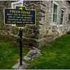 New Paltz NY Huegenot Street Freer House 1 Built 1720, April 2016