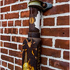 New Paltz NY Old Brick Decorated Pipe April 2016