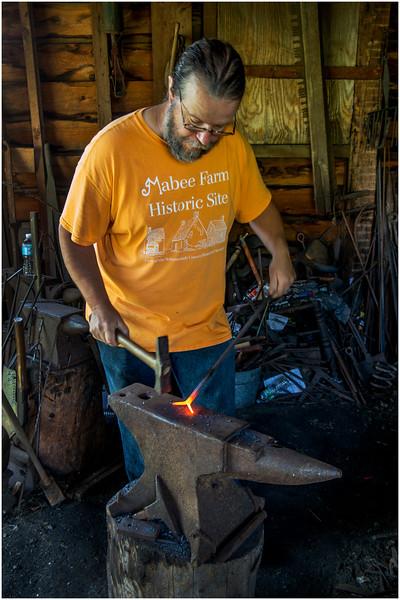 Rotterdam NY Maybee Farm Blacksmith Shop 8 August 2016