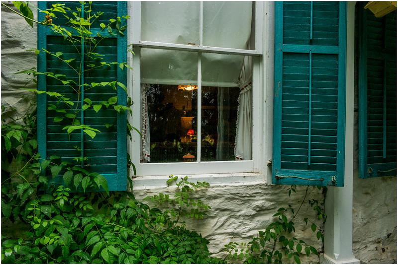 Hurley NY Stone House Day Exterior 1 Newkirk House July 2016