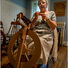 Hurley NY Stone House Day Spinning Parsonage 2 July 2016
