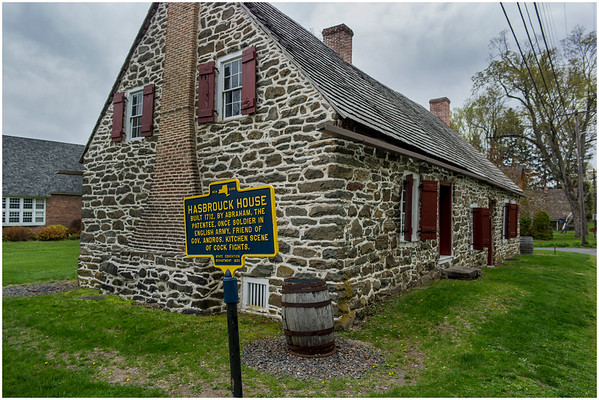 New Paltz NY Huegenot Street Hasbrouck House 1 Built 1712, April 2016