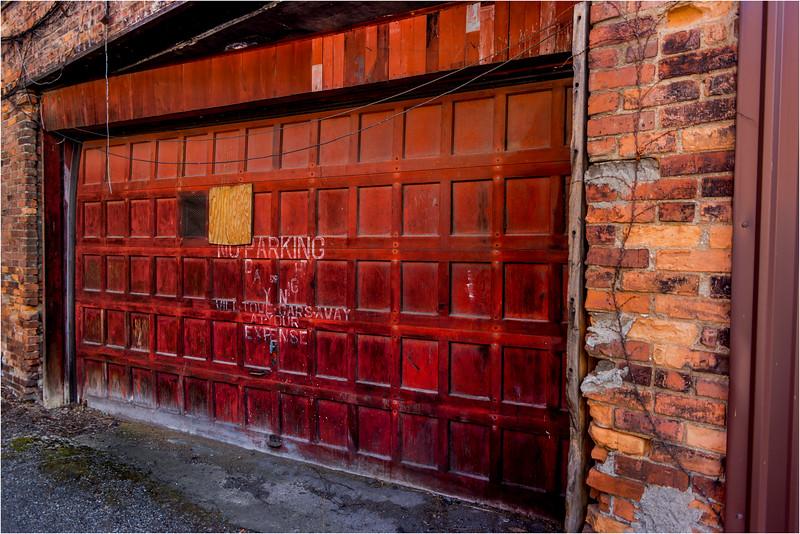 Binghamton NY March 2016 Garage Door 1