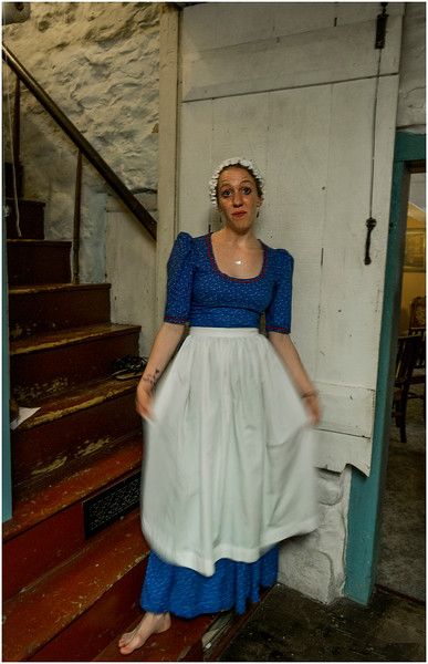 Hurley NY Stone House Day Hostess at the Guard House July 2016