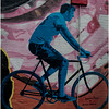 Ithaca NY Downtown Detail Wall Painting 3 October 2016