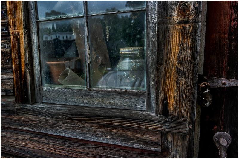 Hurley NY Stone House Day Barn Detail 5 July 2016
