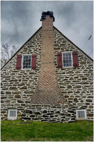 New Paltz NY Huegenot Street Hasbrouck House 6 Built 1712, April 2016