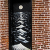 New Paltz NY Old Brick Moon Wave Door April 2016