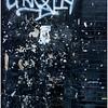 New Paltz NY Old Brick Black Wall April 2016