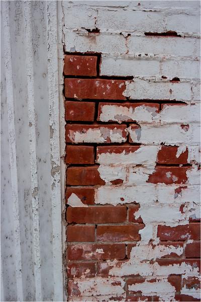 Johnson City NY March 2016 Downtown Brick White