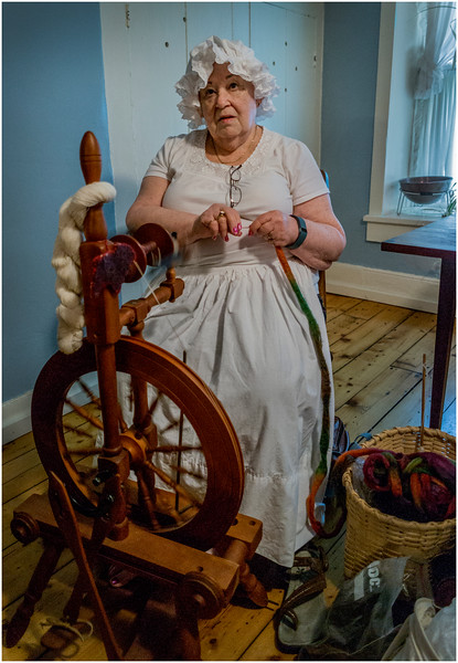 Hurley NY Stone House Day Spinning Parsonage 4 July 2016