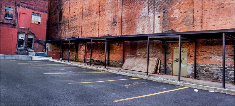 Binghamton NY March 2016 Parking Lot