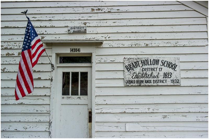 Berne NY Bradt Hollow School 2 May 2016
