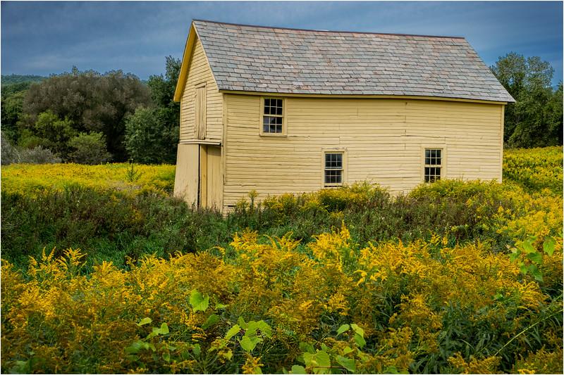 White Creek Yellow Barn NY 3 September 2018