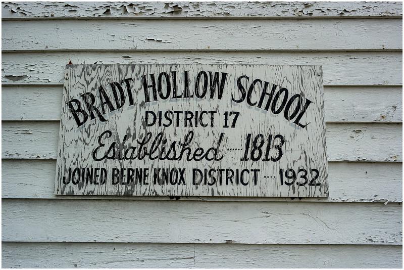 Berne NY Bradt Hollow School 22 May 2016