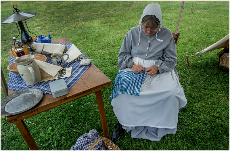 Schoharie NY Civil War Encampment 6 September  2016