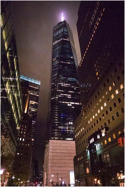 Manhattan NY One World Trade Center 1 November 2016