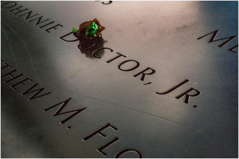 Manhattan NY World Trade Center Names 1 November 2016
