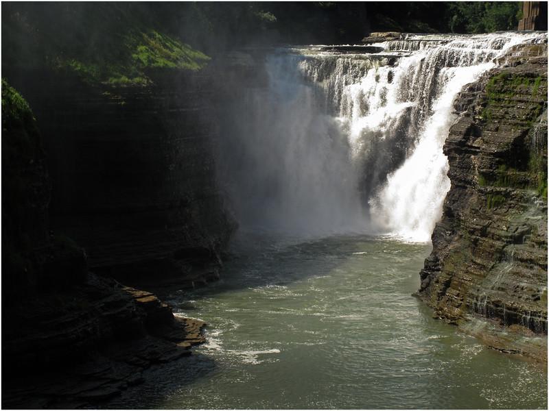 Letchworth SP NY Upper Falls 03 August 2010