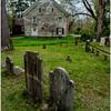 New Paltz NY Huegenot Street Cemetery House 1 April 2016