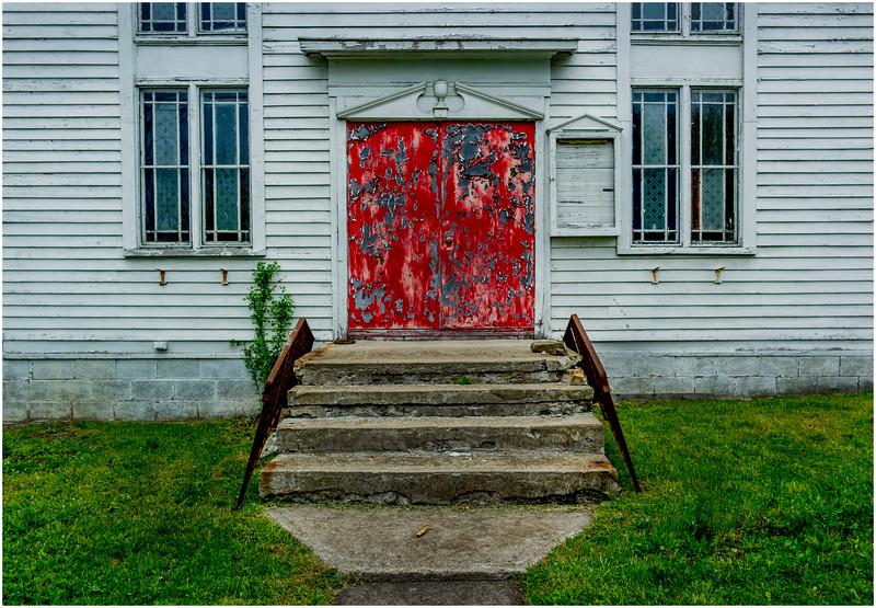 Sloansville NY Abandoned Church 1 May 2016