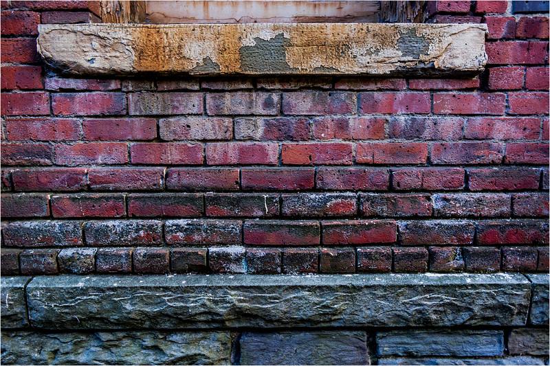 Binghamton NY March 2016 Brick Wall 10