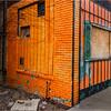 Johnson City NY March 2016 Downtown Orange Building