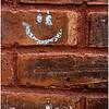 New Paltz NY Old Brick Happy Face April 2016