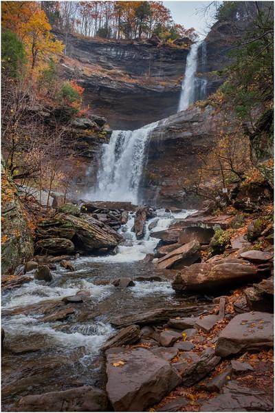 New York Catskills Kaaterskill Falls 20 October 2019