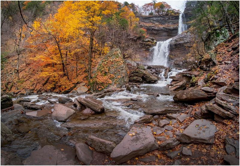 New York Catskills Kaaterskill Falls 13 October 2019