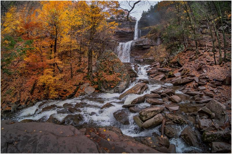 New York Catskills Kaaterskill Falls 16 October 2019