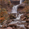 New York Catskills Kaaterskill Falls 10 October 2019