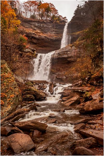 New York Catskills Kaaterskill Falls 2 October 2019