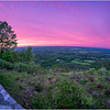 NY New Scotland Thatcher Park Overlook Sunset 3 May 2019