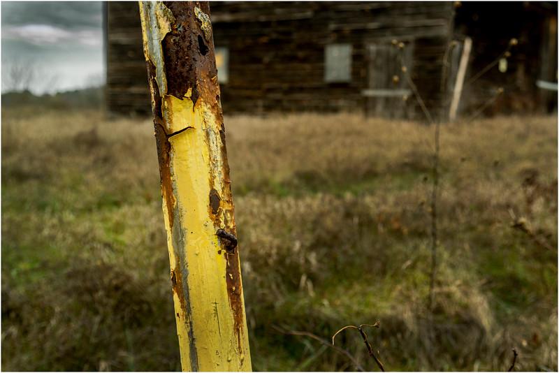 Slingerlands NY Krumkill Road November 2015 Fence 7
