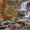 New York Catskills Kaaterskill Falls 11 October 2019