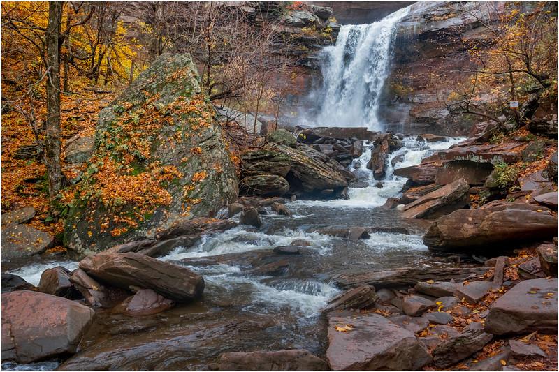New York Catskills Kaaterskill Falls 19 October 2019