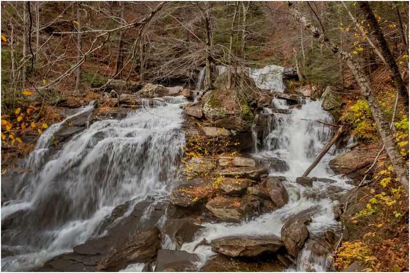 New York Catskills Haines Falls 4 October 2019