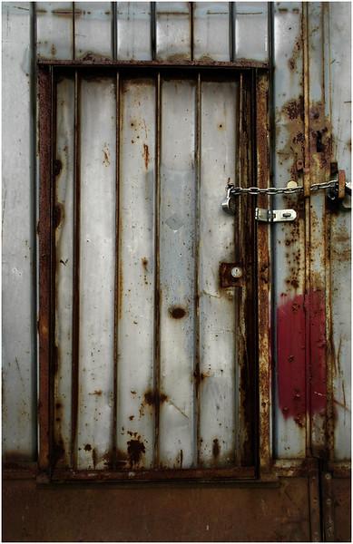 Metal Door Prattsville NY June 2012