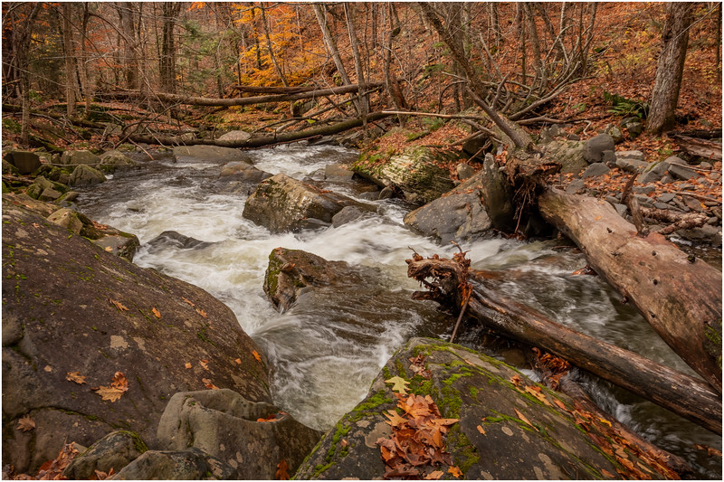 New York Catskills Kaaterskill Creek 11 October 2019