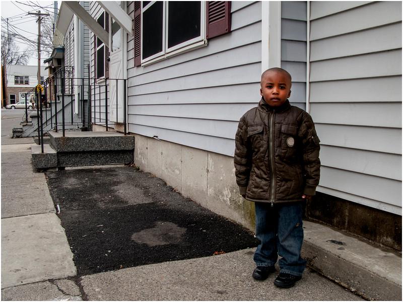 Albany NY Young Boy Ontario Street 2008