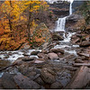 New York Catskills Kaaterskill Falls 15 October 2019