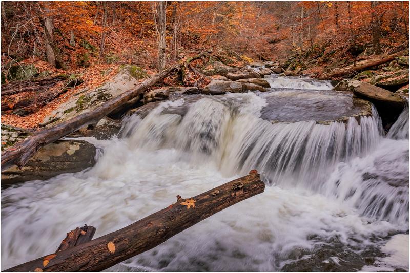 New York Catskills Kaaterskill Creek 10 October 2019