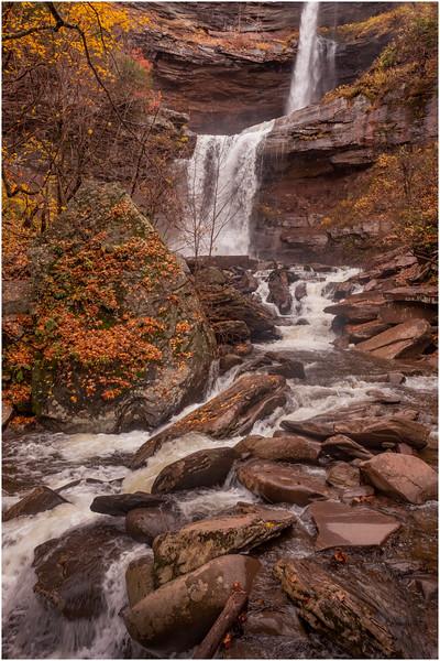 New York Catskills Kaaterskill Falls 5 October 2019